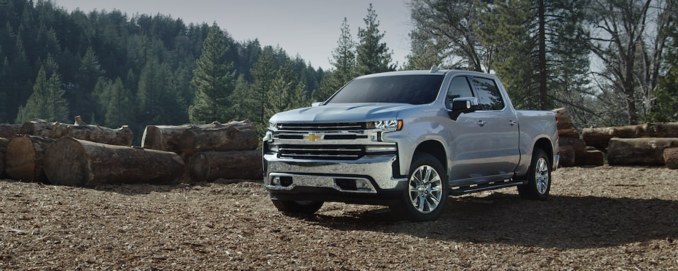 Chevy Homepage: <Silverado 1500 LTZ Crew Cab front 3/4>