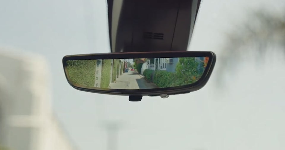 Chevy Safety: Rear Camera Mirror