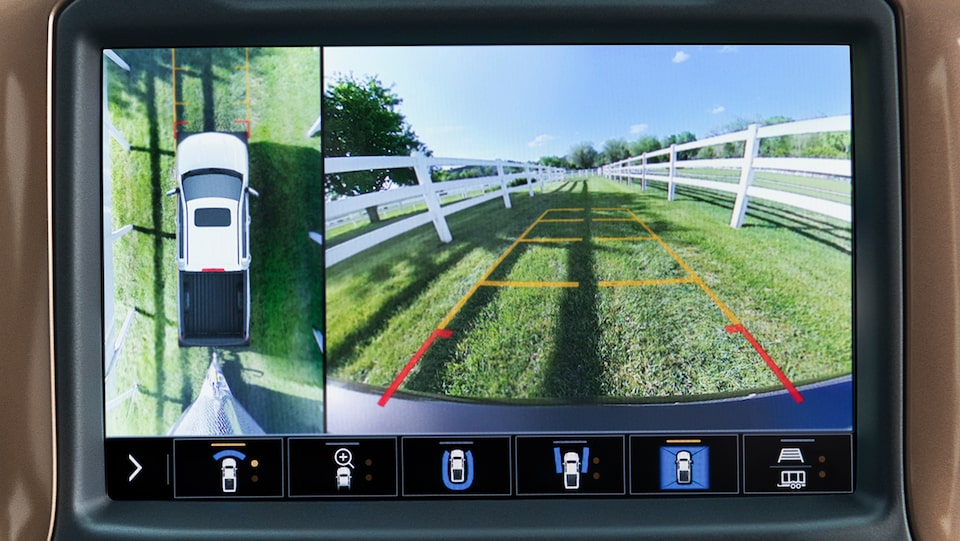 Chevy Safety: Rear Vision Camera
