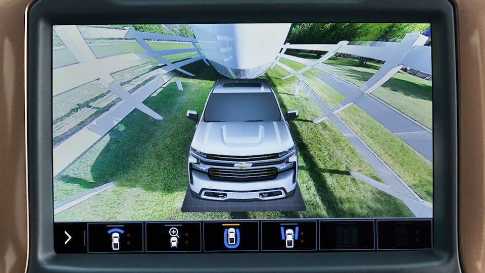 Chevy Safety: Surround Vision