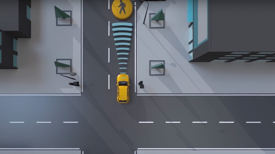 Chevy Safety: Front Pedestrian Breaking